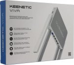 Маршрутизатор Keenetic Viva (KN-1910) AC1300 10/100/1000BASE-TX/4G ready белый