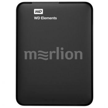 "Внешний жесткий диск WD Original USB 3.0 500Gb WDBMTM5000ABK-EEUE Elements Portable 2.5"" черный"