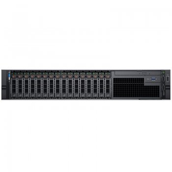 "Сервер Dell PowerEdge R740 1x4114 12x16Gb x16 2.5"" H730p mc iD9En 5720 QP 1x750W 3Y PNBD Conf-1 (210-AKXJ-47)"