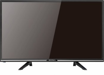 "Телевизор-LCD 32"" Supra STV-LC32LT0110W черный/HD READY/60Hz/DVB-T/DVB-T2/DVB-C/USB (RUS)"