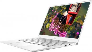 "Ноутбук Dell XPS 13 Core i7 8565U/8Gb/SSD256Gb/Intel UHD Graphics 620/13.3""/FHD (1920x1080)/Windows 10/silver/WiFi/BT/Cam"