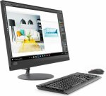 "Моноблок Lenovo IdeaCentre 520-24IKU 23.8"" Full HD i3 7020U (2.3)/4Gb/1Tb 7.2k/530 2Gb/DVDRW/CR/Windows 10 Home Single Language/GbitEth/WiFi/BT/90W/кл"