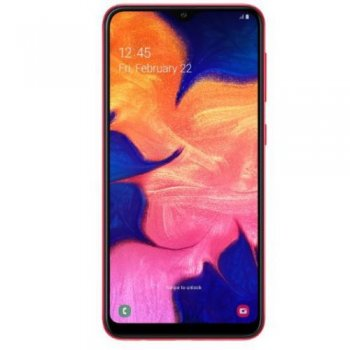 "Смартфон Samsung Galaxy A10 SM-A105FZRGSER Red (1.6+1.35GHz, 2Gb, 6.2""1520x720 IPS,4G+WiFi+BT,32Gb+microSD, 13Mpx)"