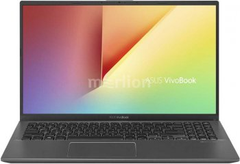 "Ноутбук Asus VivoBook X512UA-BQ063T Core i5 8250U/8Gb/SSD256Gb/Intel UHD Graphics 620/15.6""/FHD (1920x1080)/Windows 10/grey/WiFi/BT/Cam"
