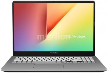 "Ноутбук Asus VivoBook S530FN-BQ374T Core i7 8565U/8Gb/SSD256Gb/nVidia GeForce Mx150 2Gb/15.6""/FHD (1920x1080)/Windows 10/dk.grey/WiFi/BT/Cam"