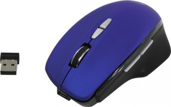 Мышь беспроводная QUMO Wireless Optical Mouse <Office Mystery M60> (RTL) USB 7btn+Roll <24279>