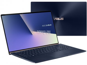 Ноутбук Asus Zenbook UX533FD-A8081T <90NB0JX1-M01170> Intel Core i5-8265U/8Gb/512Gb SSD/GeForce® GTX 1050/Wi-Fi/BT/Cam/15.6 FHD 1920x1080 IPS/Win10