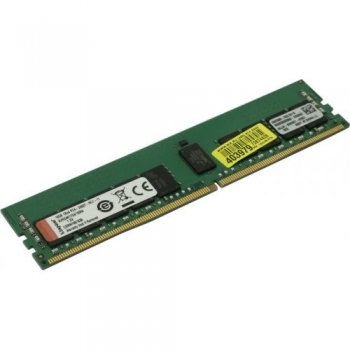 Оперативная память Kingston <KVR24R17S4/16MA> DDR4 RDIMM 16Gb <PC4-19200> CL17 ECC Registered