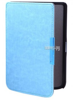Чехол BookCase для PocketBook Touch 614/624/626 Slim Light Blue BC-626-BLU