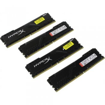 Оперативная память Kingston HyperX Fury <HX430C15FB3K4/64> DDR4 DIMM 64Gb KIT 4*16Gb <PC4-24000> CL15