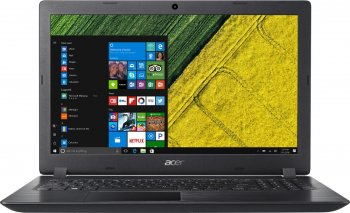 Ноутбук Acer Aspire 3 A315-21G-68QN NX.GQ4ER.094 (AMD A6-9220e 1.6GHz/4096Mb/1000Gb/AMD Radeon 520 2048Mb/Wi-Fi/Bluetooth/Cam/15.6/1366x768/Windows 10