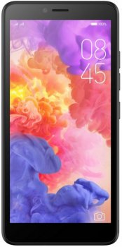 Смартфон itel A52 Lite DS Midnight Black