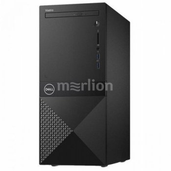 Системный блок Dell Vostro 3670 (3670-5390) MT i3 9100 (3.6)/4Gb/1Tb 7.2k/UHDG 630/DVDRW/CR/Windows 10 Home 64/GbitEth/WiFi/BT/290W/клавиатура/мышь/че