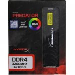 Оперативная память Kingston HyperX Predator <HX432C16PB3AK4/64> DDR4 DIMM 64Gb KIT4*16Gb <PC4-25600> CL16
