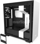 Корпус NZXT H710 CA-H710B-W1 белый без БП E-ATX 3x120mm 2xUSB3.0 1xUSB3.1 audio bott PSU
