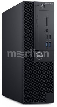 Системный блок Dell Optiplex 3070 SFF i5 9500 (3)/8Gb/SSD256Gb/UHDG 630/DVDRW/Windows 10 Professional/GbitEth/200W/клавиатура/мышь/черный