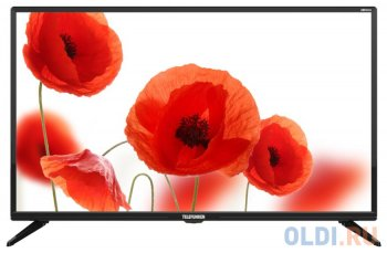 "Телевизор-LCD 32"" Telefunken TF-LED32S06T2 черный/HD READY/ HDMI/ USB/ DVB-T/DVB-T2/DVB-C"