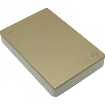 "Внешний жесткий диск Seagate Backup Plus Portable <STDR4000405> Gold/White 4Tb 2.5"" USB3.0 (RTL)"