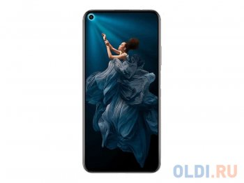 "Смартфон Honor 20 Midnight Black YAL-L21 Kirin980/6GB/128GB/6.26"" 2340x1080/48+16+2+2Mp/32Mp/2SIM/3G/4G/Android 9.0+Magic UI 2.1"