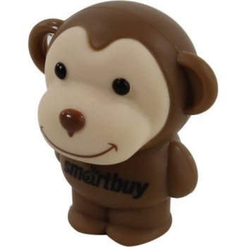 Накопитель USB SmartBuy Wild <SB32GBMonkey> USB2.0 Flash Drive 32Gb (RTL)