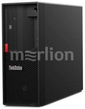 Системный блок Lenovo ThinkStation P330 MT i7 9700 (3)/16Gb/SSD256Gb/UHDG 630/DVDRW/CR/Windows 10 Professional 64/GbitEth/400W/клавиатура/мышь/черный
