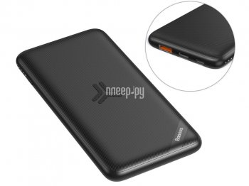 Портативный аккумулятор Baseus S10 Bracket 10W Wireless Charger Power Bank 10000mAh Black PPS10-01