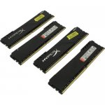 Оперативная память Kingston HyperX Fury <HX434C16FB3K4/32> DDR4 DIMM 32Gb KIT 4*8Gb <PC4-27700> CL16