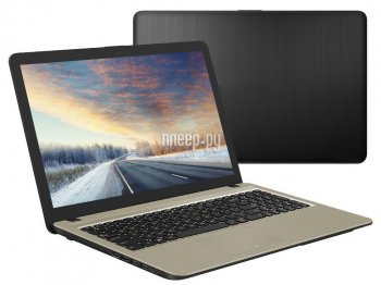 Ноутбук Asus VivoBook A540UA-DM1486 Black 90NB0HF1-M20950 (Intel Pentium 4417U 2.3 GHz/4096Mb/128Gb SSD/Intel HD Graphics/Wi-Fi/Bluetooth/Cam/15.6/192
