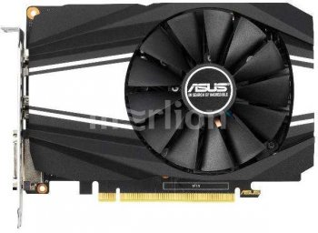 Видеокарта Asus PCI-E PH-GTX1650S-O4G nVidia GeForce GTX 1650SUPER 4096Мб 128bit GDDR6 1530/12002 DVIx1/HDMIx1/DPx1/HDCP Ret
