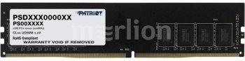 Оперативная память DDR4 32Gb 3200MHz Patriot PSD432G32002 RTL PC4-25600 CL22 DIMM 288-pin 1.2В dual rank