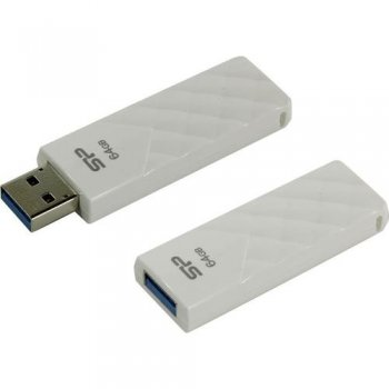 Накопитель USB Silicon Power Blaze B03 <SP064GBUF3B03V1W> USB3.2 Flash Drive 64Gb (RTL)