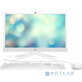 "Моноблок HP 21-b0015ur 20.7"" Full HD Cel J4025 (2)/4Gb/SSD128Gb/UHDG 600/CR/Windows 10/GbitEth/WiFi/BT/65W/клавиатура/мышь/Cam/белый 1920x1080"