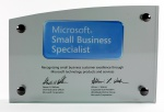 Знак Microsoft Small Business Specialist